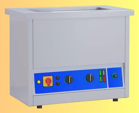 Lavatrice con ultrasuono automatico, riscaldamento, tempo ciclo e carico automatico