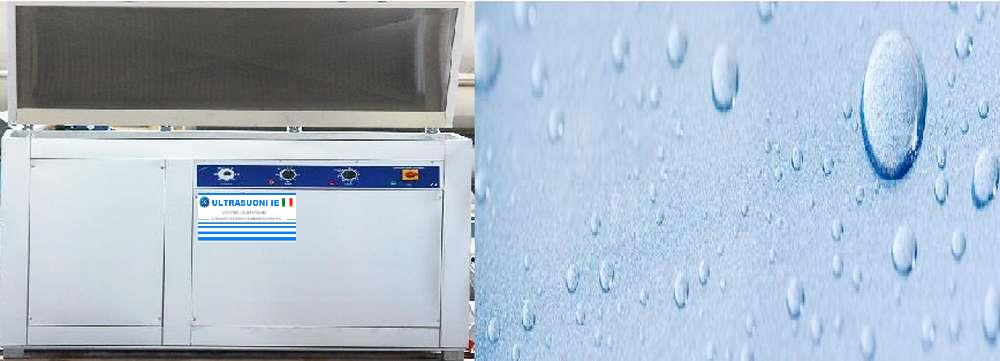 Lavatrici ecologiche funzionanti con liquidi acquosi